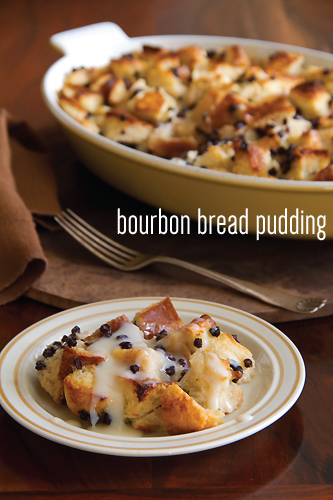 "... course in my ""practice"" Thanksgiving is Bourbon Bread Pudding"