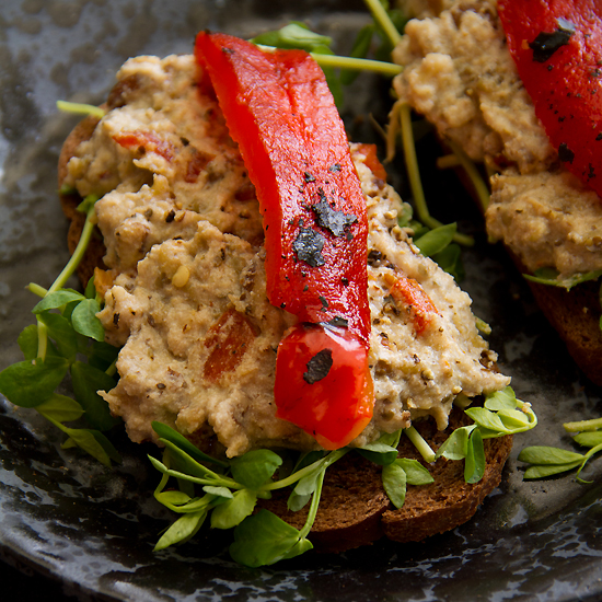 eggplant salald