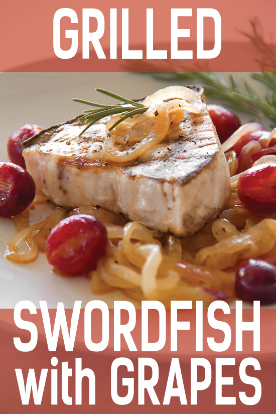 How to grill fish. Grilled Swordfish