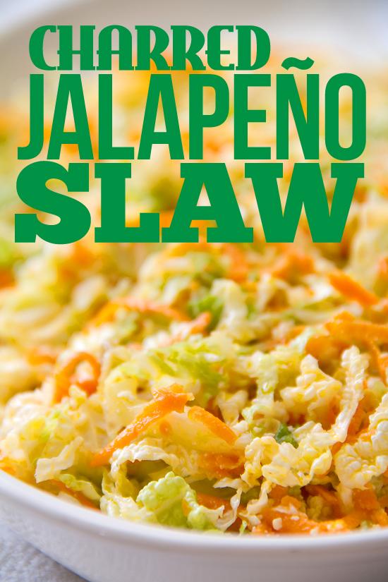 Charred Jalapeño Slaw