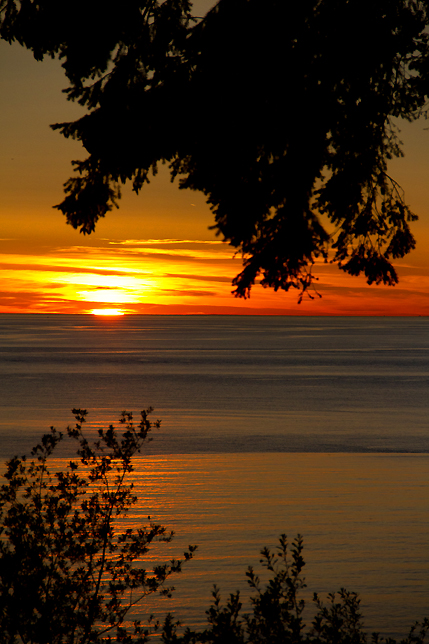 Lummi Island Sunset