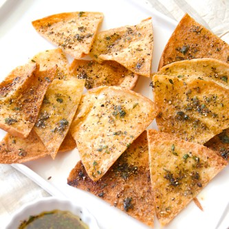 Spicy Cumin Pita Chips