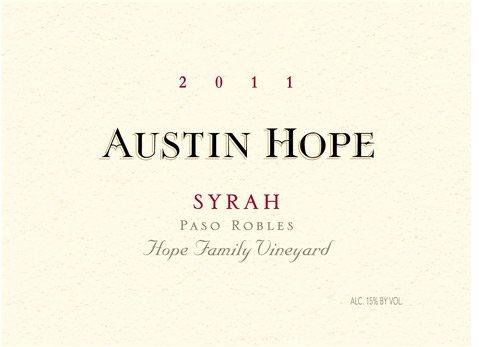 Austin Hope Syrah