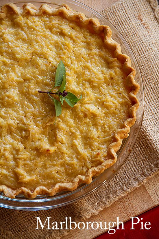 Marlborough Pie: a Traditional Thanksgiving Dessert
