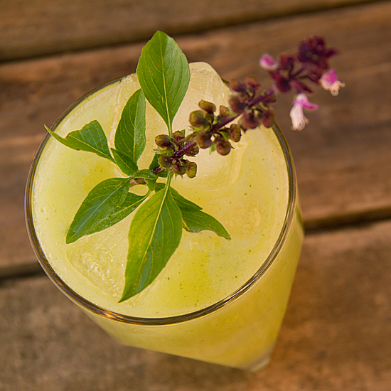 Pear Basil Lemonade