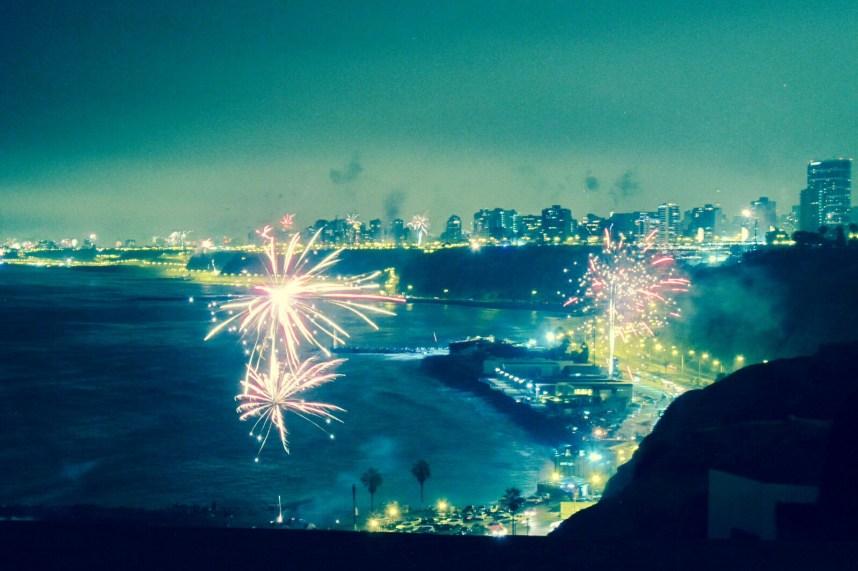 Lima fireworks