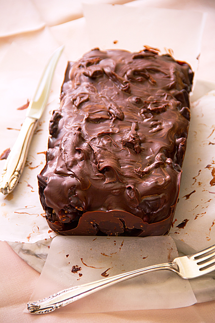 chocolate nut loaf