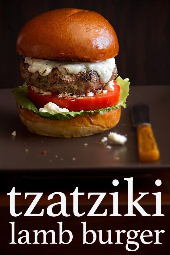 Tzatziki Lamb Burgers