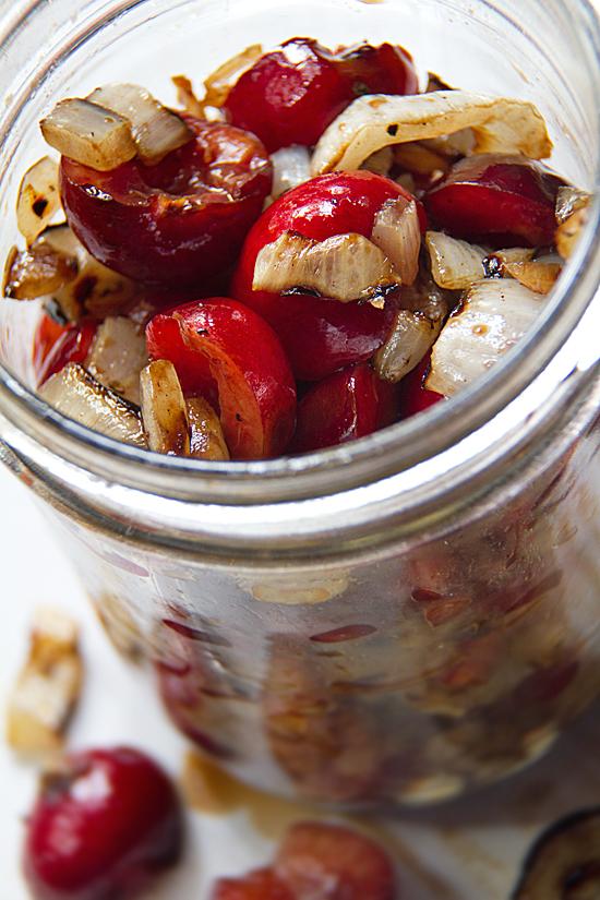 Savory Cherry Relish