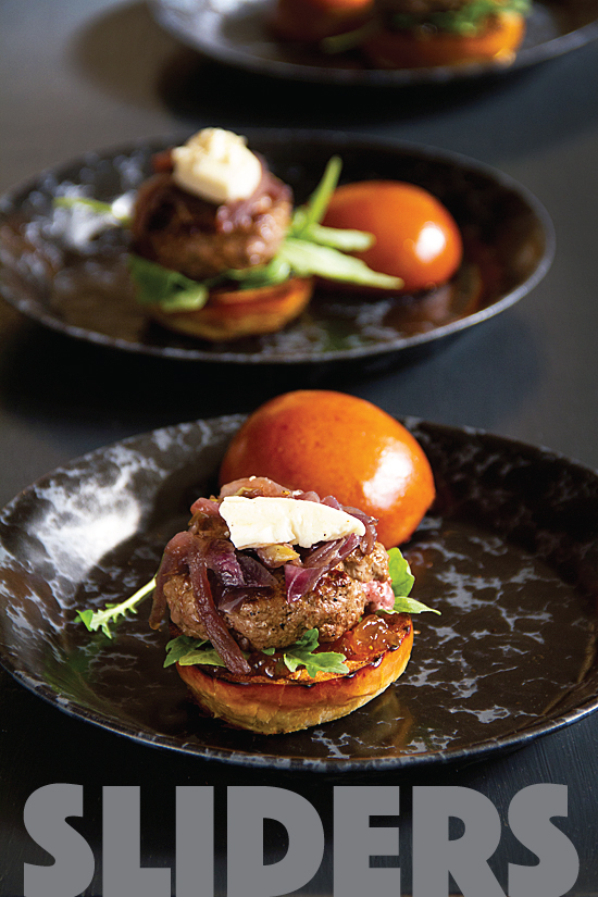 Beef and Brie Sliders