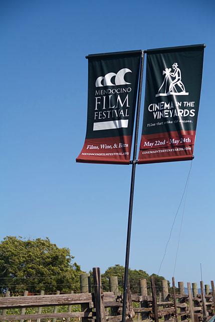 Mendocino Film Festival Banner