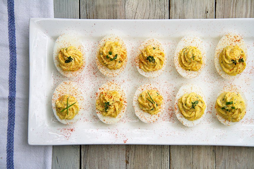 Deviled Eggs with Fresh Herbs