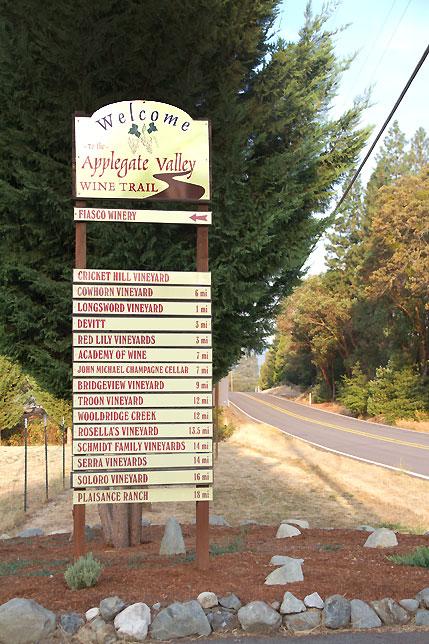Applegate Wine Trail Jacksonville, Oregon