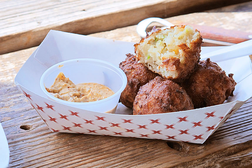 Conch Fritters, Maximo Seafood Shack