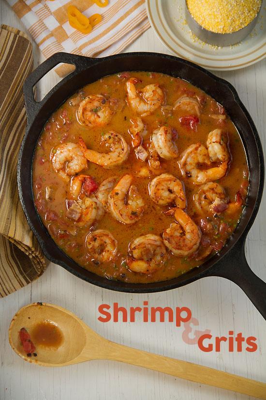 Shrimp and Grits for Brunch