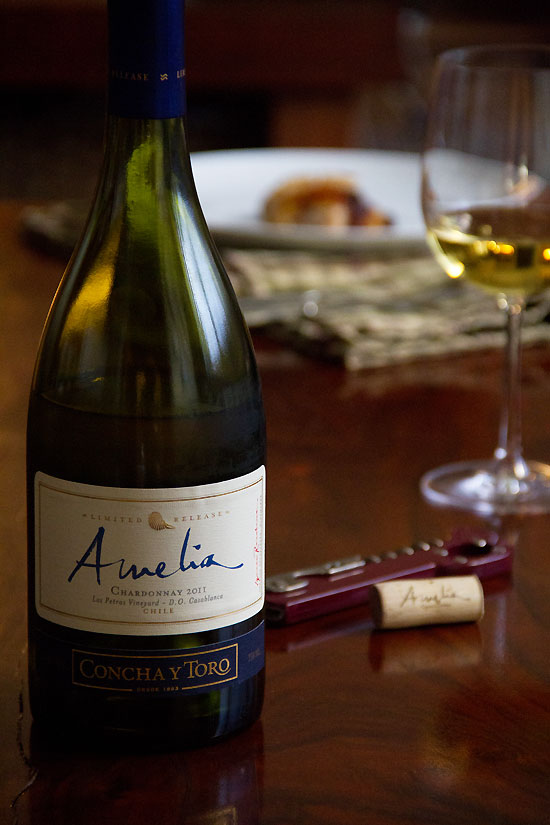 """Concha y Toro """"Amelia"""" Chardonnay a lightly oaky chardonnay"""