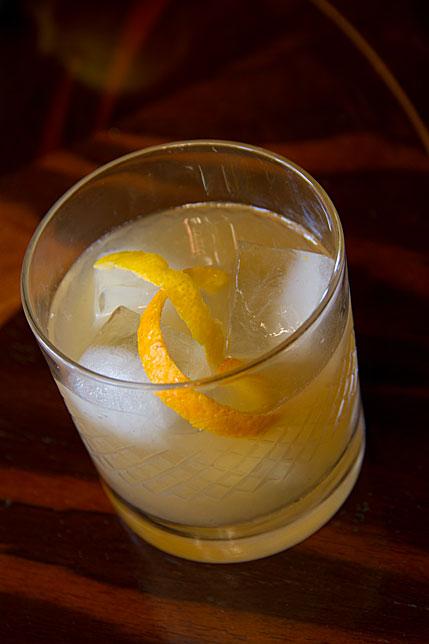 New York whiskey cocktail
