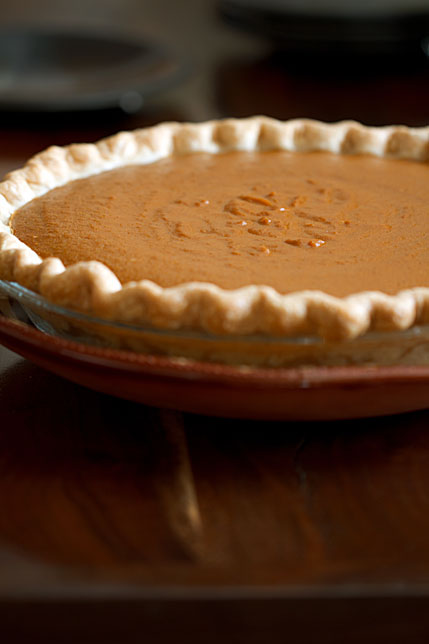 Holiday Desserts: Black Bottom Pumpkin Pie