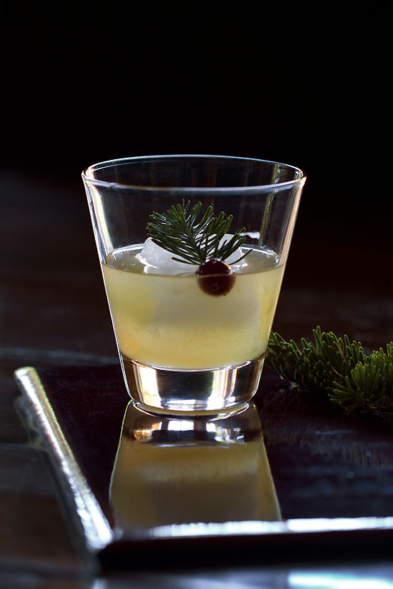 Winter Solstice Cocktail
