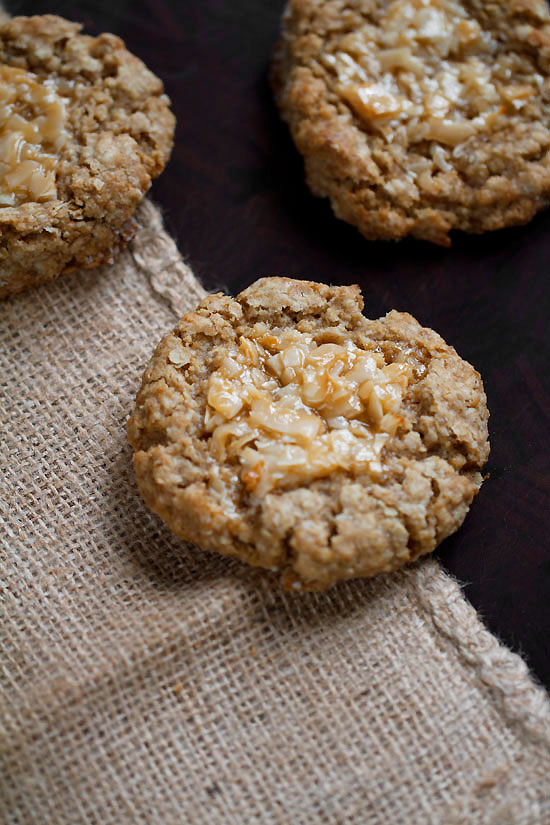 Sycamore Kitchen's Oatmeal Cookies with Coconut Toffee
