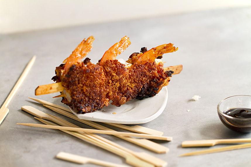 Shrimp on Shrimp Satay