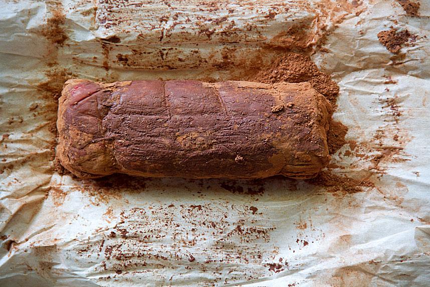 Cocoa-Rubbed Lamb Loin