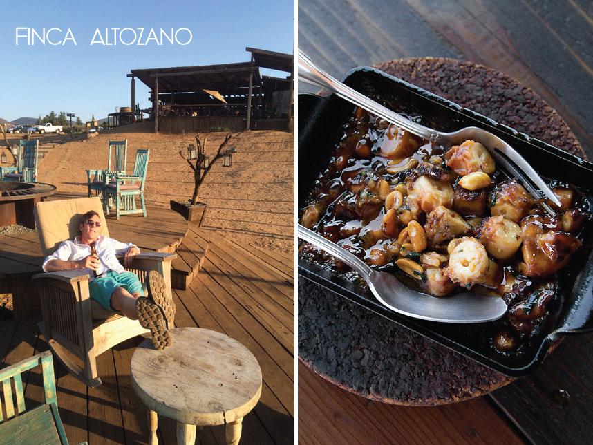 Finca Altozano, Valle de Guadalupe road trip