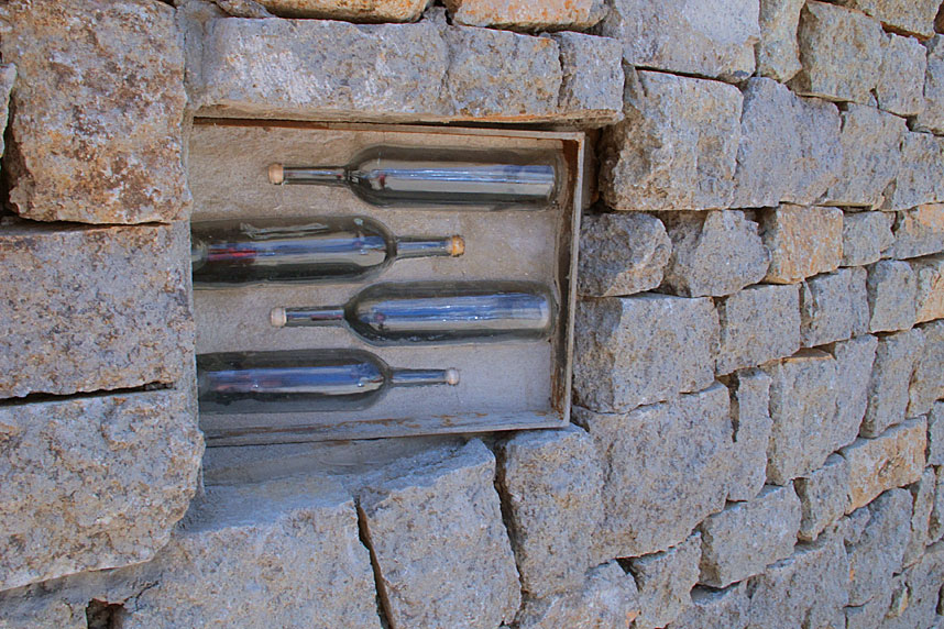 Wall Bottles, Valle de Guadalupe Road Trip