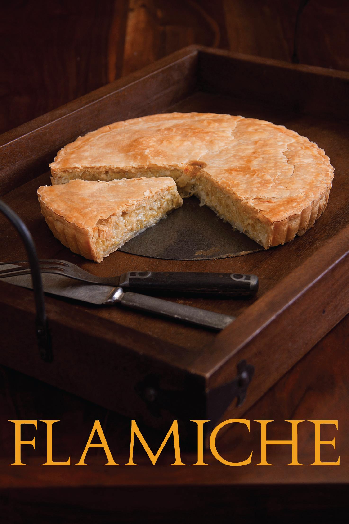 leek and egg flamiche