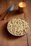 Cranberry-Almond Shortbread Crumble Tart