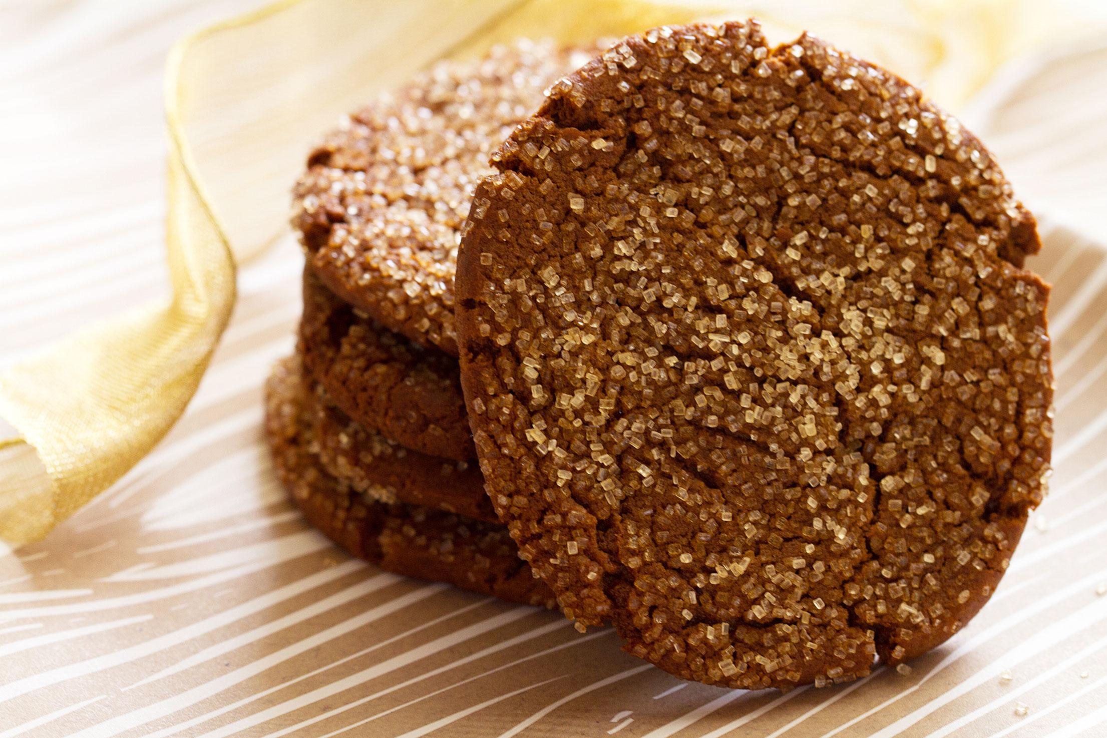 Holiday Gingerbread Cookies Slice and Bake Style