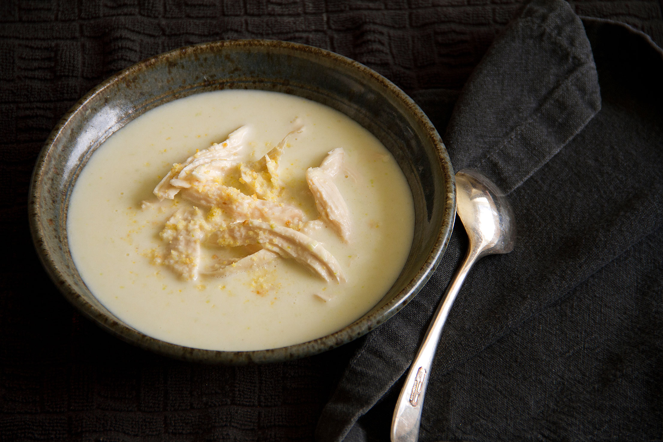 Chicken and Cornbread Buttermilk Soup
