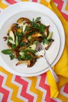 Delicata Squash, Chanterelle Mushroom and Apple Salad