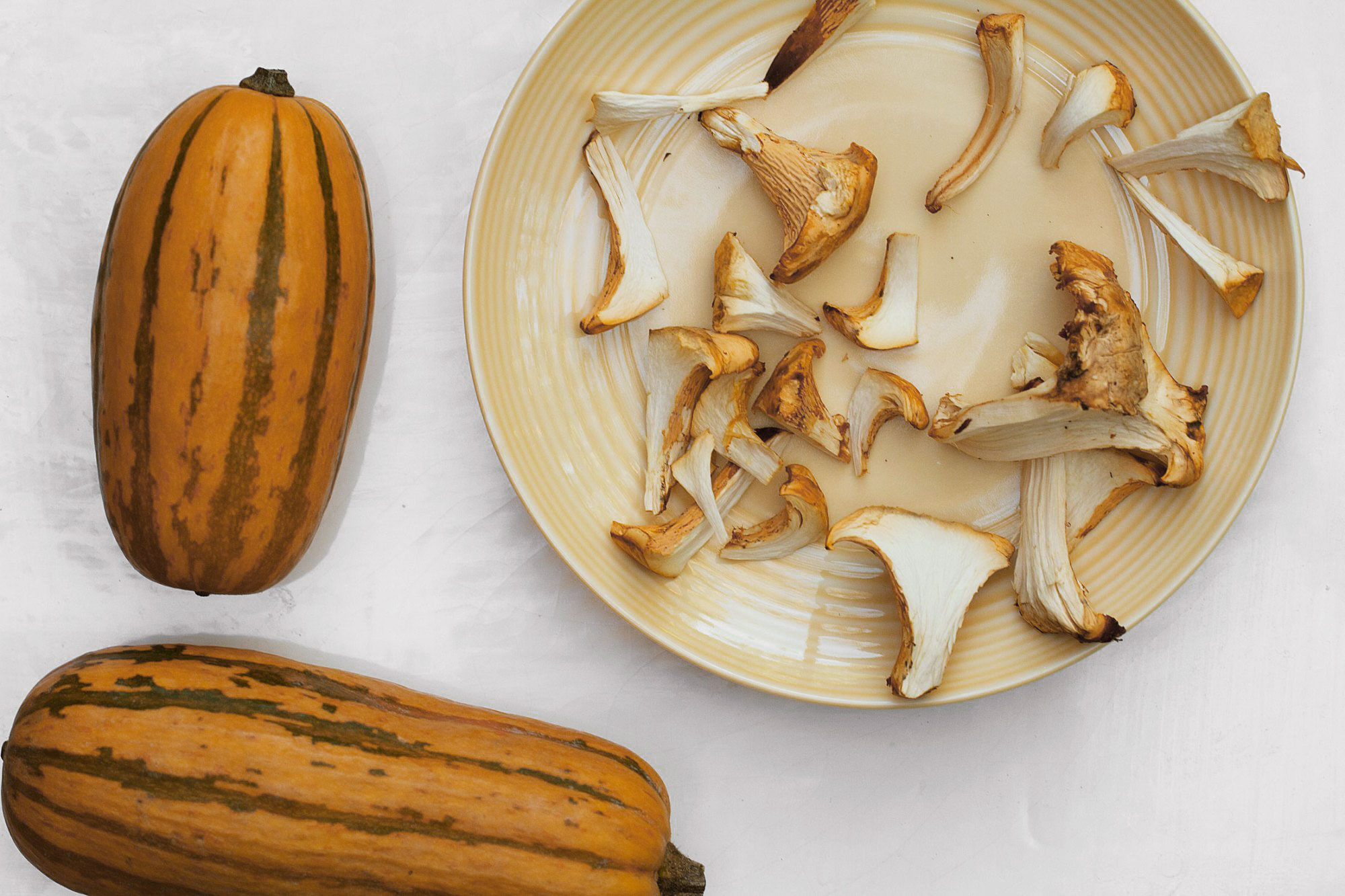 Squash Mushrooms