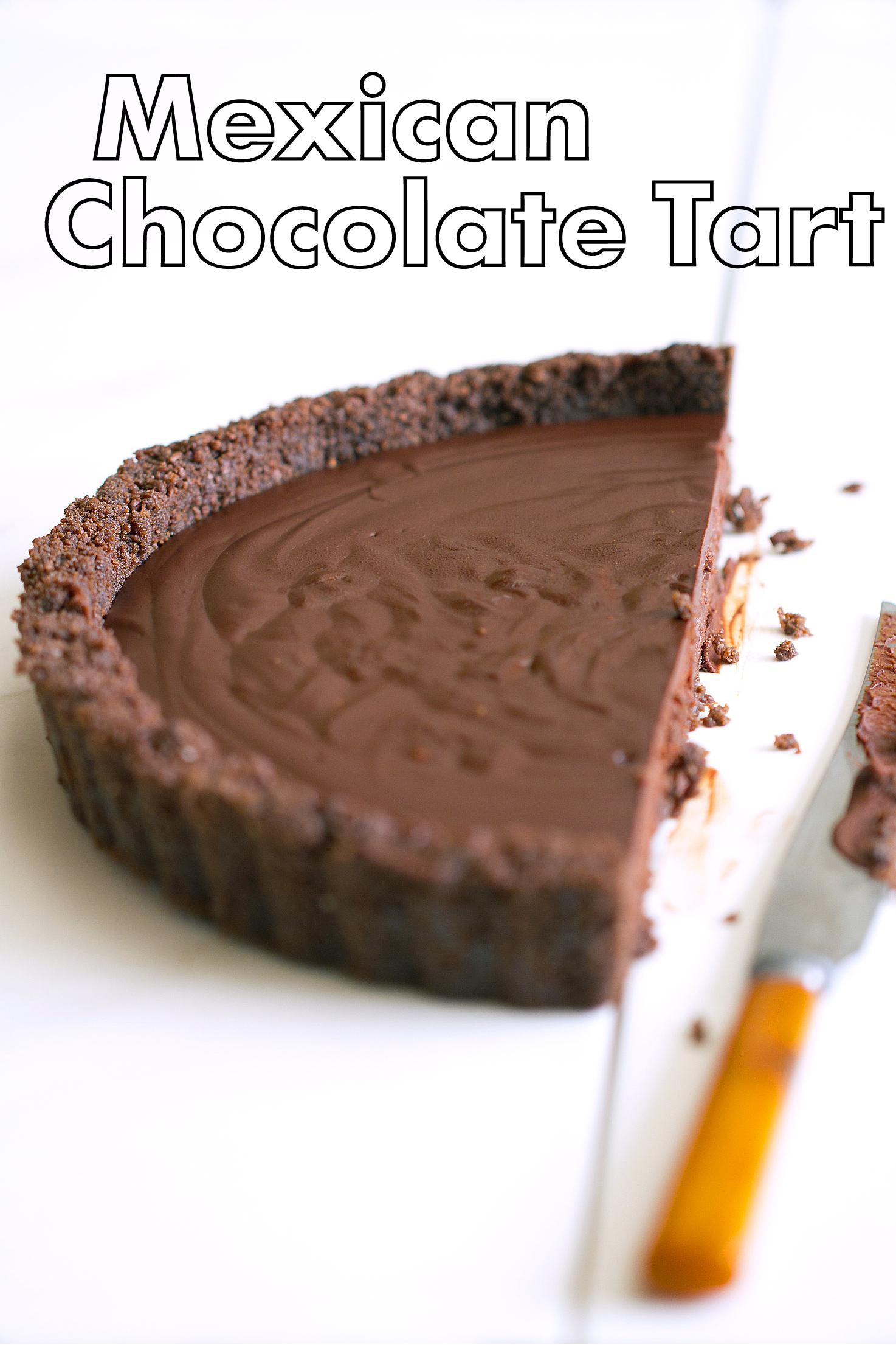 Mexican Chocolate Made into a Tart - SippitySup