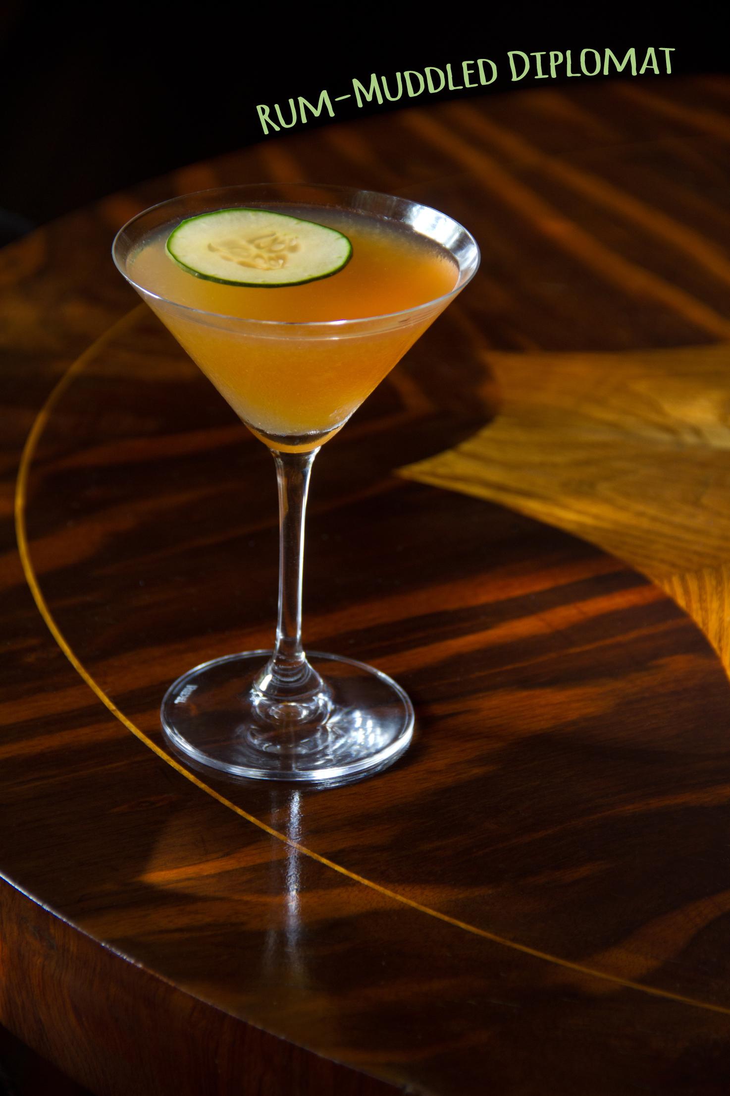 Rum-Muddled Diplomat