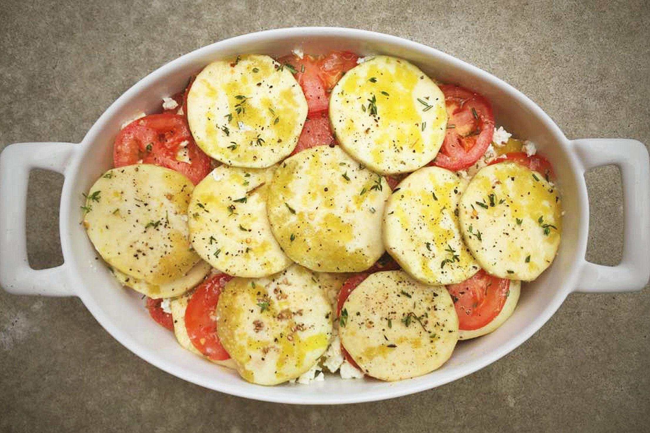 eggplant tomato tian