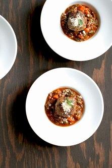 Beef-Ricotta Meatballs