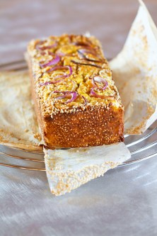 Savory Carrot Cake with Feta and Cumin