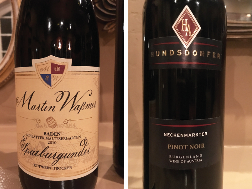 German Pinot Noir Tasting