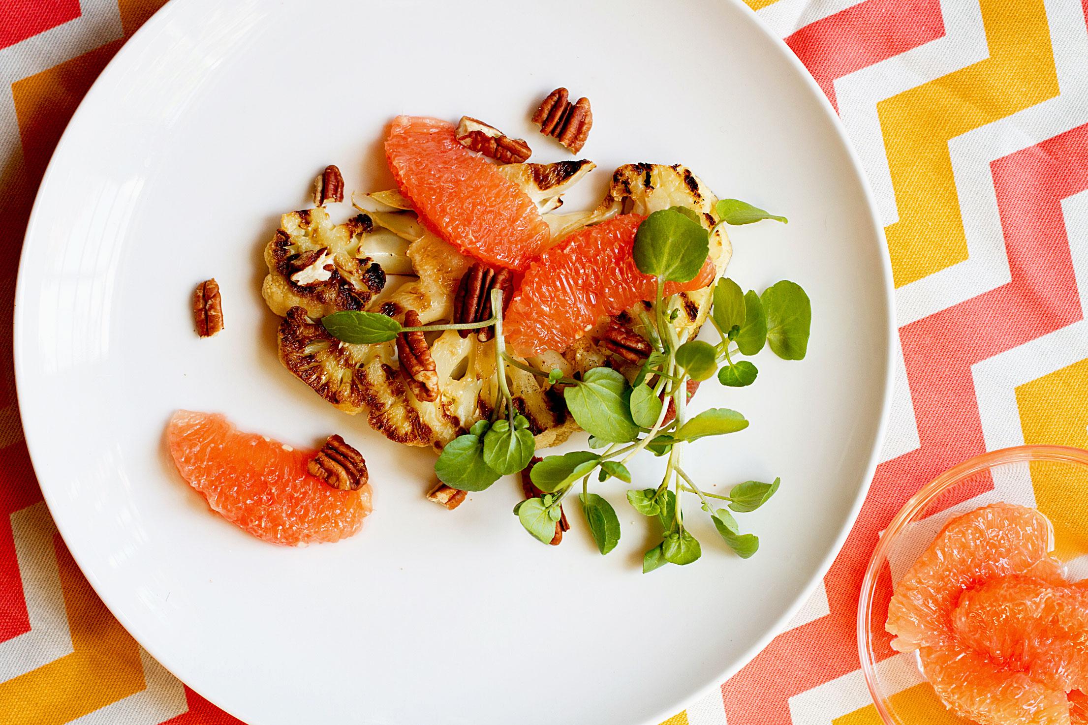 Eat a Little Better: Grilled Cauliflower Steaks