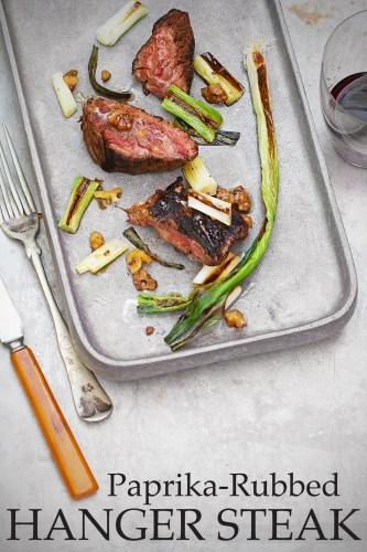 Hanger Steak with Scallions