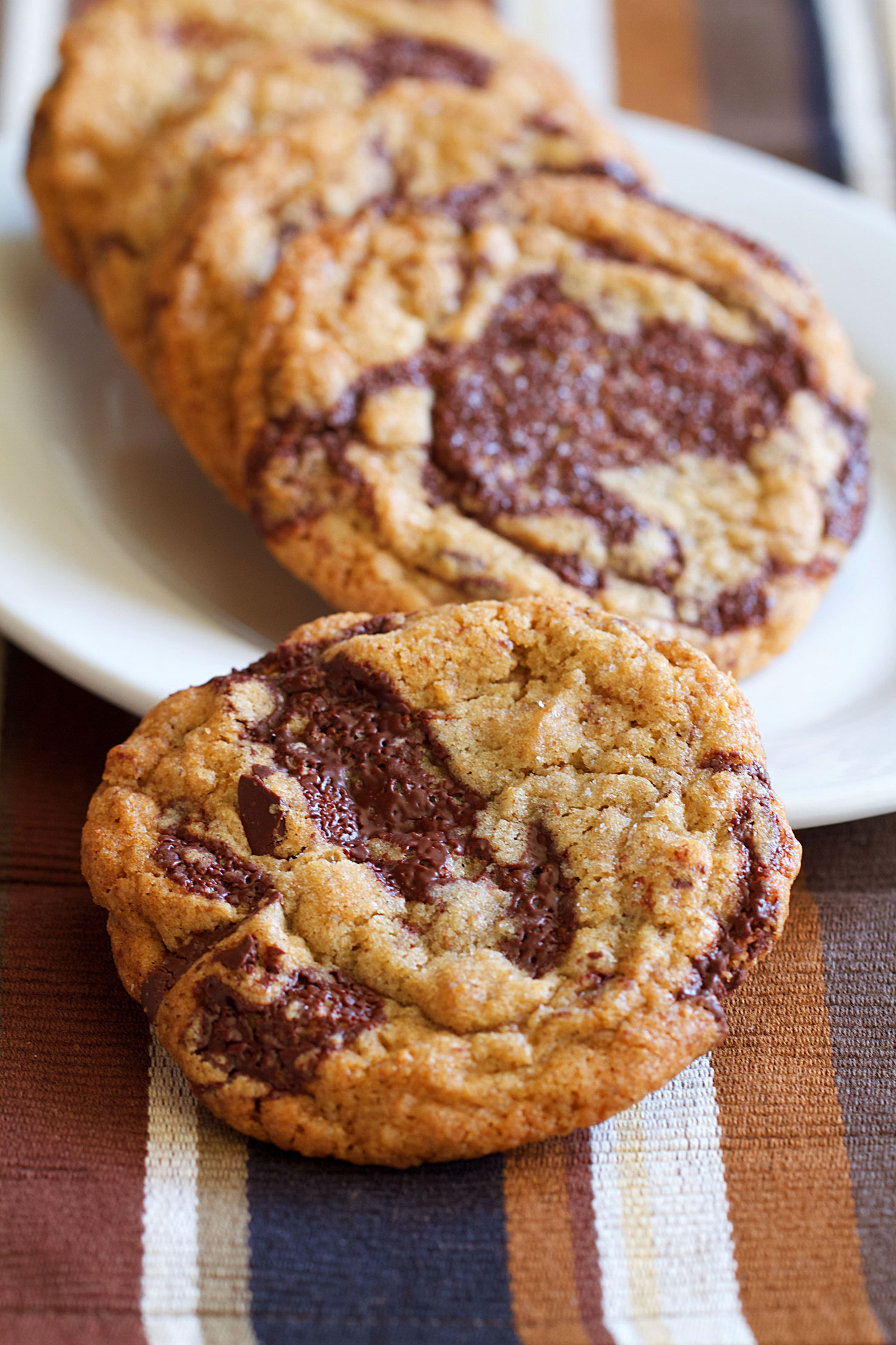 Chocolate Chip Rye Cookies
