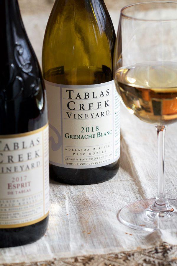 Tablas Creek Vineyard wines for Marino Ristorante online pairing dinner