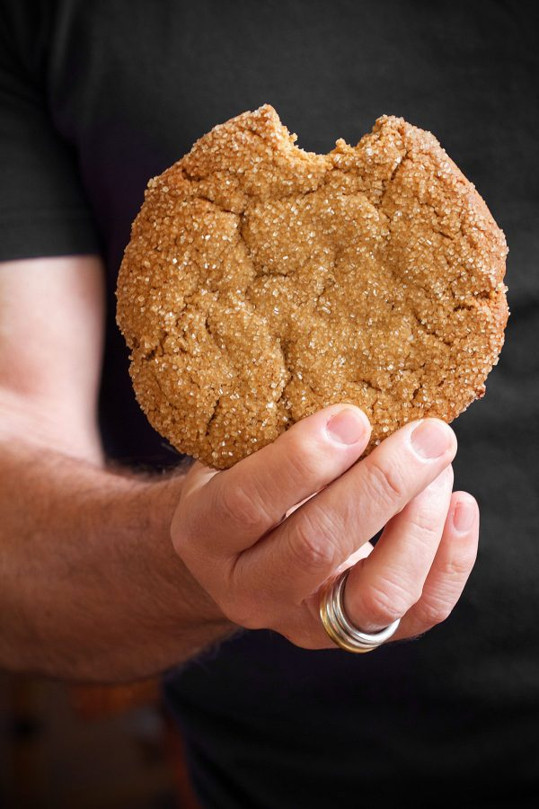 Giant Ginger-Molasses Cookies