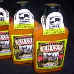 save the rhino hot sauce