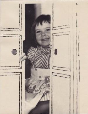 gewn pratesi as a child