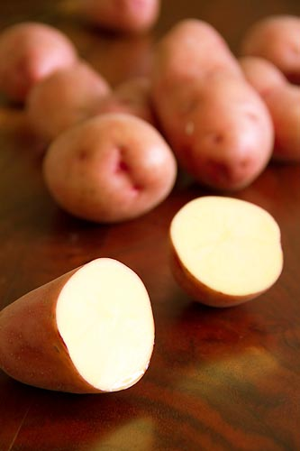 Klondike Rose Potatoes