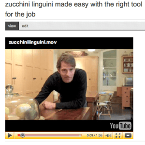 SippitySup video for Zucchini Linguini