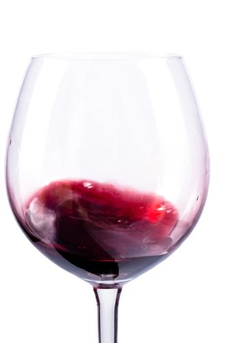 Red Wine Swirl